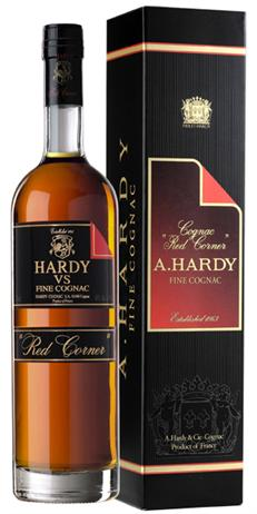 A Hardy Cognac VS Red Corner
